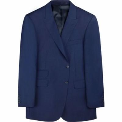 ブリティッシュテイラー British Tailor メンズ スーツ・ジャケット アウター chadwick blue textured jacket Blue