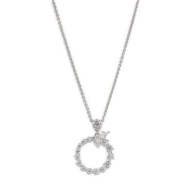 ナディール レディース ネックレス・チョーカー アクセサリー Leah Cluster Circle Pendant Necklace 16