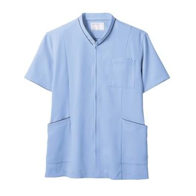 MONTBLANC 72-1224 スクラブ(半袖)(男女兼用) ナースウェア・白衣・介護ウェア