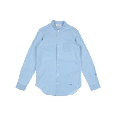 パオロ ペコラ PAOLO PECORA デニムシャツ ブルー 14 コットン 100% デニムシャツ