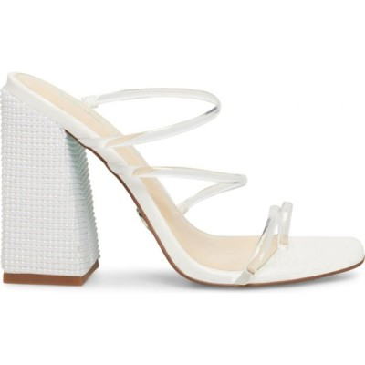 ベッツィ ジョンソン Betsey Johnson レディース サンダル・ミュール シューズ・靴 ellen pvc dress sandals ホワイト