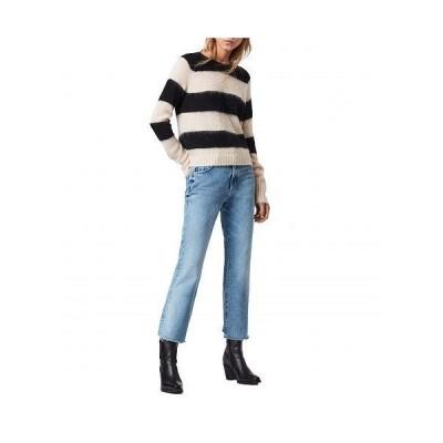 AllSaints レディース 女性用 ファッション セーター Lou Jumper - Mallow Pink/Black