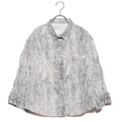 ミラオーウェン Mila Owen ワッシャープリーツセットアップシャツ (ミックス)