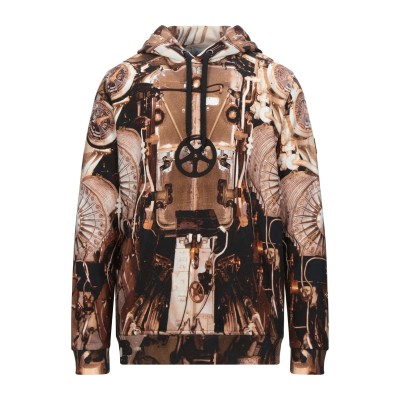 BURBERRY スウェットシャツ ブラウン M コットン 100% / ポリウレタン スウェットシャツ