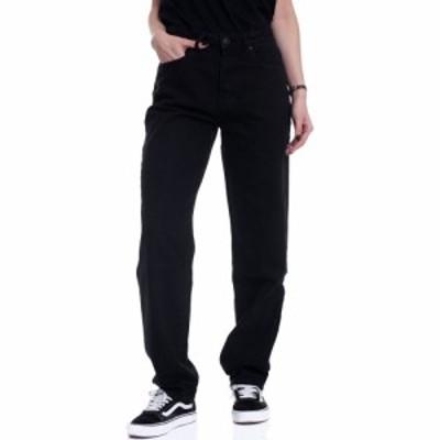 アーバンクラシックス Urban Classics レディース ジーンズ・デニム ボトムス・パンツ - High Waist Straight Black Wash - Jeans black
