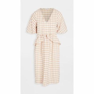 ムーンリバー Moon River レディース ワンピース ワンピース・ドレス Drop Waist Dress Beige Multi