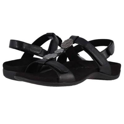 バイオニック VIONIC レディース サンダル・ミュール シューズ・靴 Farra Lizard Black