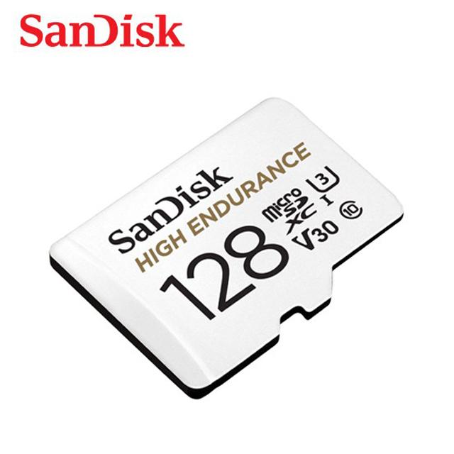 SanDisk 高耐用強效能監控設備專用microSDXC記憶卡 128GB 公司貨