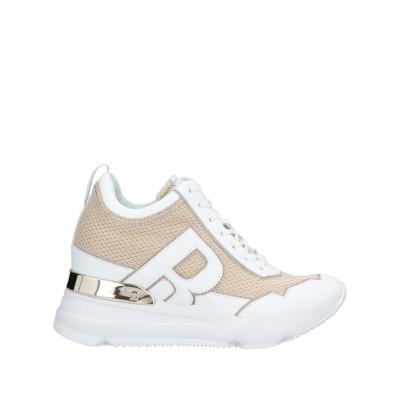 ルコライン RUCOLINE スニーカー&テニスシューズ(ローカット) ゴールド 37 紡績繊維 スニーカー&テニスシューズ(ローカット)