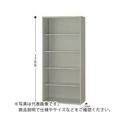 ナイキ オープン書庫 W800×D400×H900 ( NWS-0809N-AW ) (メーカー取寄)