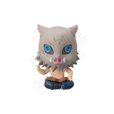 鬼滅の刃 おすわりマスコット 5.嘴平伊之助(猪頭Ver.) 単品 リボルブ 発売予定月:2021年8月