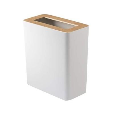 山崎実業 ゴミ箱 トラッシュカン リン 角型 ナチュラル 3196並行輸入品
