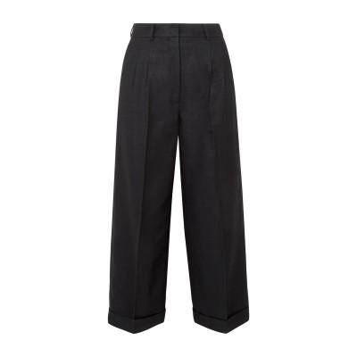 アクリス AKRIS パンツ ブラック 8 シルク 52% / ウール 48% パンツ