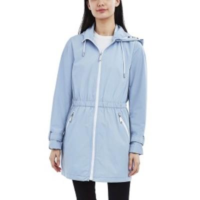ランドリーバイシェリーシーガル レディース コート アウター Hooded Water-Resistant Anorak Raincoat Pale Blue