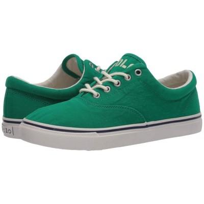 ラルフ ローレン Polo Ralph Lauren メンズ スニーカー シューズ・靴 Harpoon Green Washed Canvas