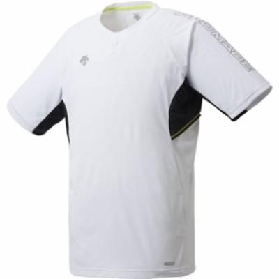 デサント(descente) ベースボールシヤツ ヤキュウソフトベースボールTシャツ (dbmrja50-wh)