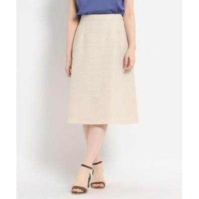 SunaUna(スーナウーナ) ◆フラワージャカードスカート