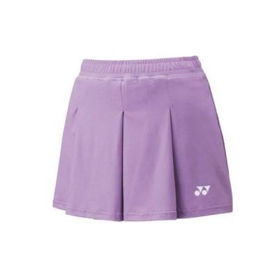 YONEX ヨネックス 25043 テニス・バドミントン ウエア(ウィメンズ) ウィメンズショートパンツ ラベンダー 25043