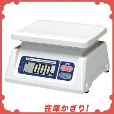 A&D 取引証明用 デジタルはかり SK-20Ki ひょう量:20kg 最小表示:0.02kg(使用範囲:0.220kg) 皿寸法:230(W)*190(D)mm 検定付:使