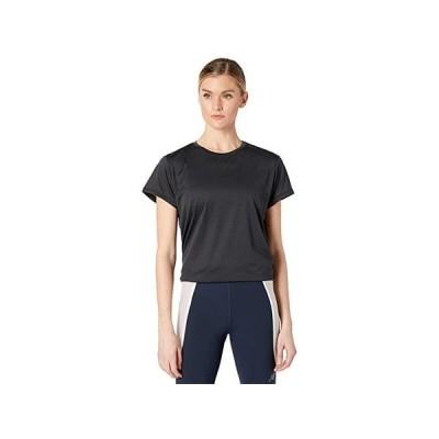 ニューバランス Sport Core Heather Tee レディース シャツ トップス Black Heather