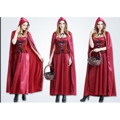 ハロウィン衣装 サンタクリスマスコスチューム変装赤ずきん吸血鬼 巫女 悪魔 女王 大人用 化粧パーティーグッズ cosplay レット帽子