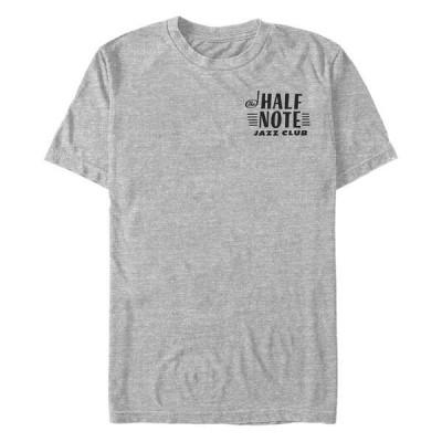 フィフスサン Tシャツ トップス メンズ Men's Soul Half Note Jazz Club Short Sleeve T-shirt Gray