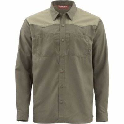 シムス Simms メンズ シャツ フランネルシャツ トップス Blacks Ford Flannel Shirt Dark Stone Plaid