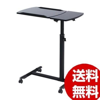 サンワサプライ ノートパソコンデスク 黒 NPC-10BK
