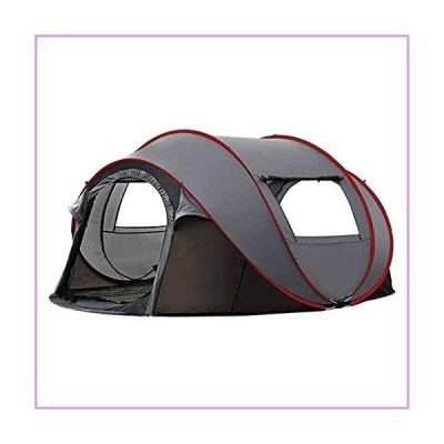 ZDMSEJ Lightweight Family Tent, Camping Automatic Tent, Outdoor Open Camping Pop-up, Waterproof and Windproof Awning, Suitable for Picnic Hi