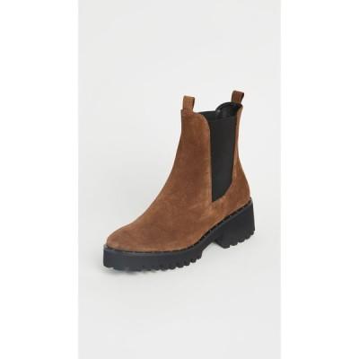 フリーダ サルバドール Freda Salvador レディース ブーツ シューズ・靴 Brooke Waterproof Lug Sole Boots Brown