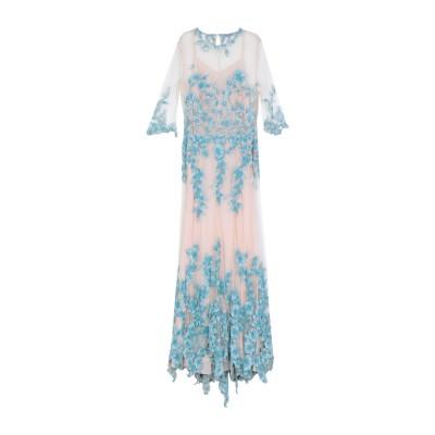 ブルマリン BLUMARINE ロングワンピース&ドレス スカイブルー 42 ナイロン 100% ロングワンピース&ドレス