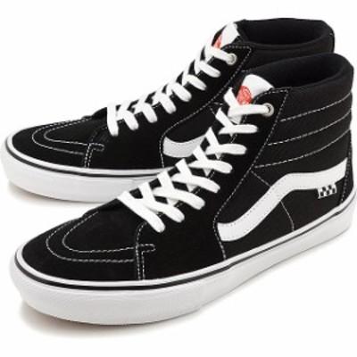バンズ VANS スニーカー スケートハイ SKATE SK8-HI [VN0A5FCCY28 SS21] メンズ・レディース スケートボーディング シューズ BLACK/WHITE