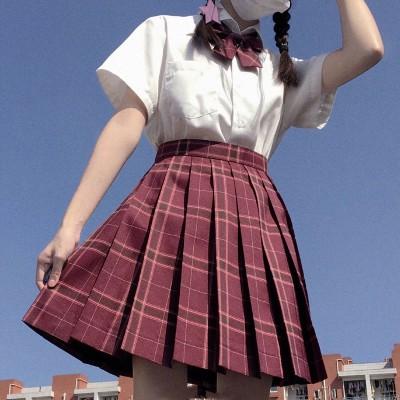 jk プリーツスカート チェック柄 ミニ チェックスカート スクールスカート ミニスカート レディース 制服 女子高生 ミニ チェック柄 かわいい おしゃれ 少女 8