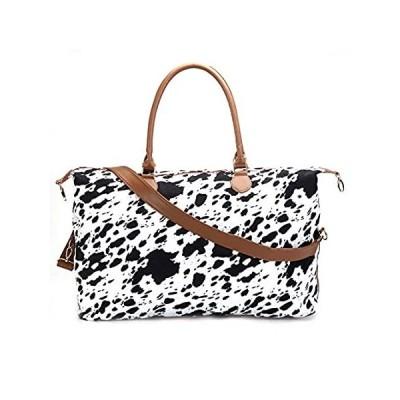 Cow Print Duffle Bag Weekender Bag For Women Travel Tote Bag Overnight Week