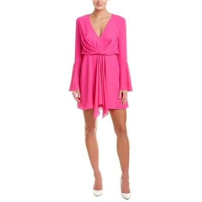 ジェイゴッドフライ ワンピース トップス レディース Jay Godfrey Draped Mini Dress bright fuchsia