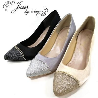 ジュレ オケージョン パンプス 靴 レディース 4702-100-510-800