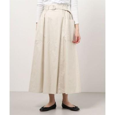 スカート Ray BEAMS / サイド ポケット Aライン スカート