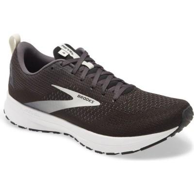 ブルックス BROOKS メンズ ランニング・ウォーキング シューズ・靴 Revel 4 Hybrid Running Shoe Black/Oyster/Silver