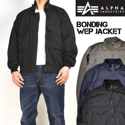 セール ALPHA アルファ ボンディング WEPジャケット メンズ ミリタリージャケット 春秋 TA1401