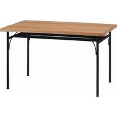 不二貿易不二貿易 レアルシリーズ 食卓テーブル 1280 幅1200×奥行800×高さ720mm ナチュラル 14678 1台(直送品)