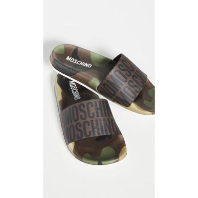 モスキーノ Moschino レディース サンダル・ミュール シューズ・靴 Mule Logo Slides Fantasy Color