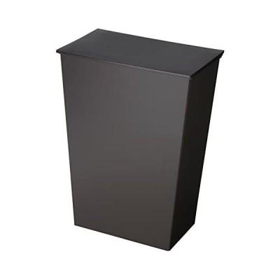 I'mD(アイムディ) ゴミ箱 クード シンプル ワイド ブラック KUDSP-WDBK (ブラック ワイド)