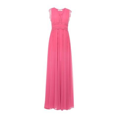 ANNA RACHELE ロングワンピース&ドレス ピンク 44 ポリエステル 100% ロングワンピース&ドレス