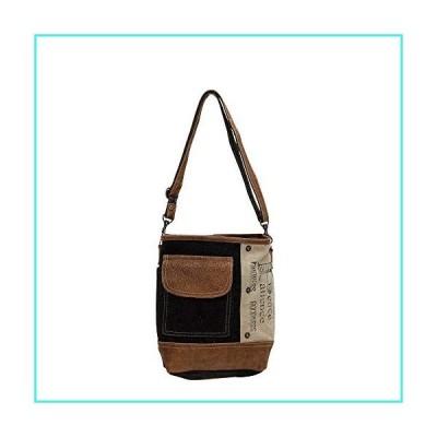 【新品】Myra Bags Peace Pocket Upcycled Canvas & Denim Shoulder Bag S-0895(並行輸入品)