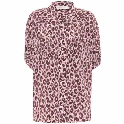 ジマーマン Zimmermann レディース ブラウス・シャツ トップス Super Eight silk blouse Candy Leopard