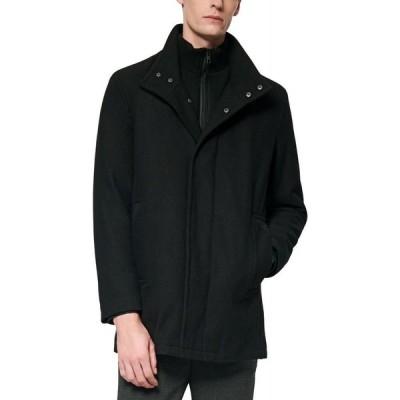 マークニューヨーク Marc New York メンズ コート カーコート アウター Coyle Melton Wool Car Coat with Inset Knit Bib Ink