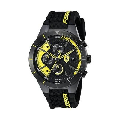 Ferrari Men's 0830261 REDREV EVO Analog Display Japanese Quartz Black Watch 並行輸入品