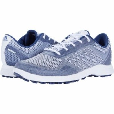 アディダス adidas Golf レディース スニーカー シューズ・靴 Alphaflex Sport White/Tech Indigo/Savannah