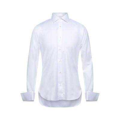 MAZZARELLI シャツ ホワイト 38 コットン 100% シャツ