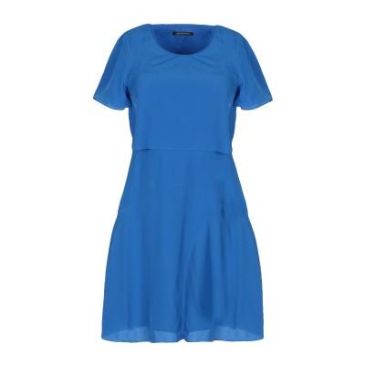 ARMANI EXCHANGE ミニワンピース&ドレス ブルー 4 ポリエステル 100% ミニワンピース&ドレス